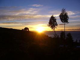 Abendstimmung am Titicaca See