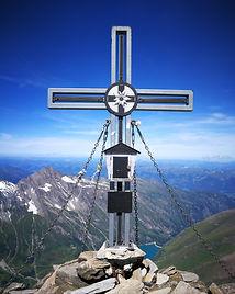 Gipfelkreuz vom Wiesbachhorn