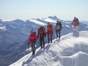 Gipfelgrat mit Glockner
