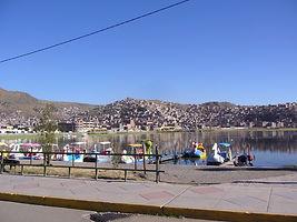 Puno am Titicaca See