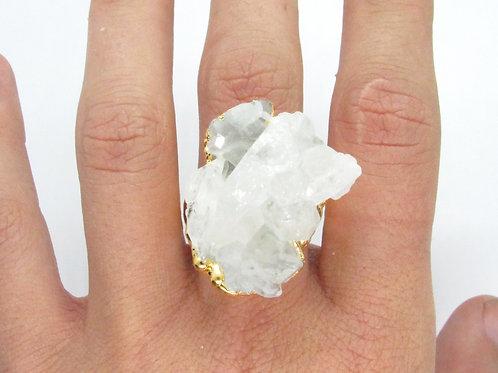 Chunky Quartz Ring