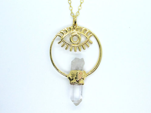 Quartz Eye Necklace