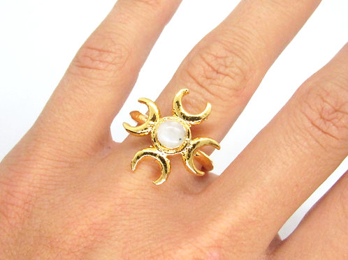 Four Moons Ring