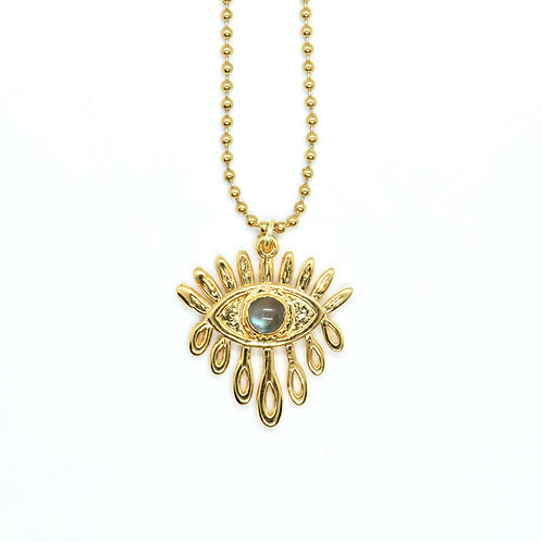 Dripping Eye Necklace