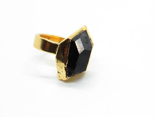 Smokey Crystal Ring