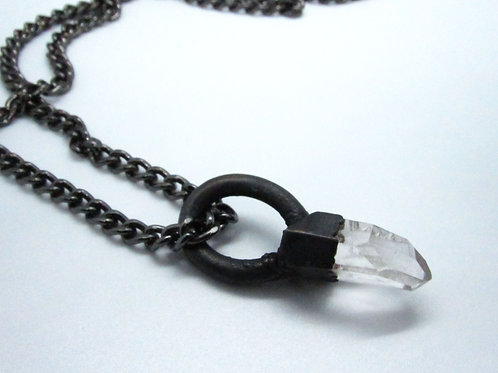Quartz Crystal Pendant