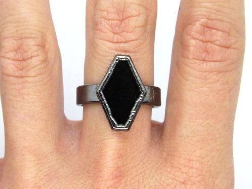 Diamond Onyx Ring