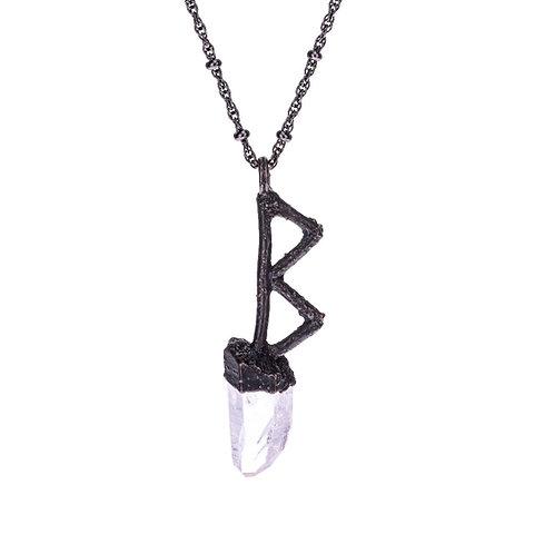 Sacred Berkana Rune Necklace