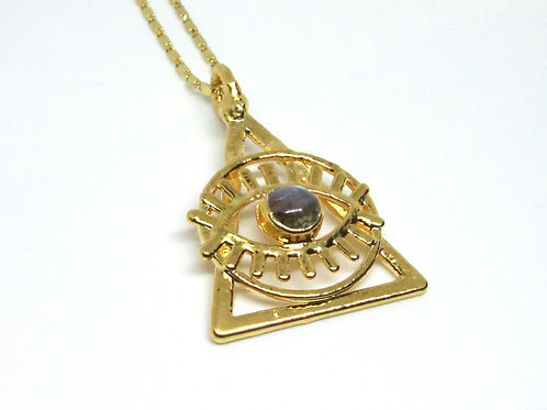 Triangle Eye Pendant