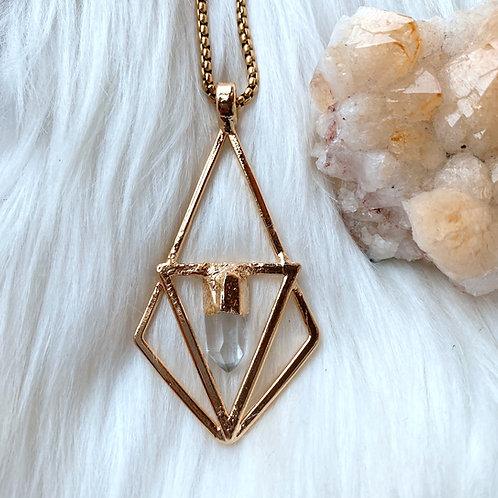 Quartz Triangle + Diamond