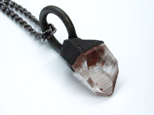 Large Quartz Crystal Pendant