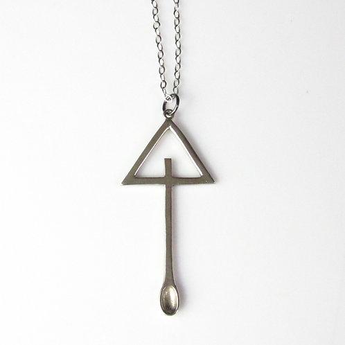 Triangle Spoon Pendant