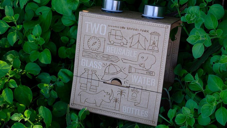 Safari Park Water Bottles