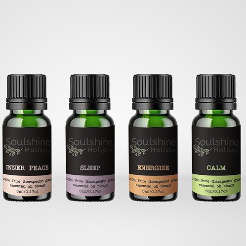 Set OF 6 Diffuser Essential Oils Blends (5ml)