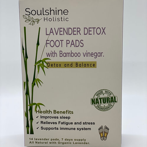 Lavender Bamboo Sleep Detox Foot Pads
