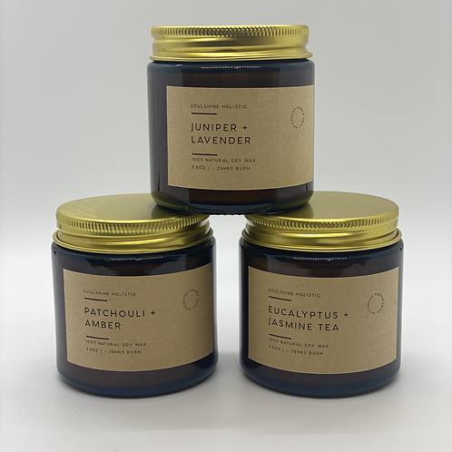 Set Of 3 Enchanting Aromatherapy Candles