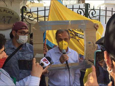 Listas de Independientes protestan contra el CNTV