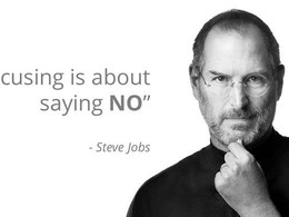 """Entrepreneurs Should Learn to Say """"NO"""""""