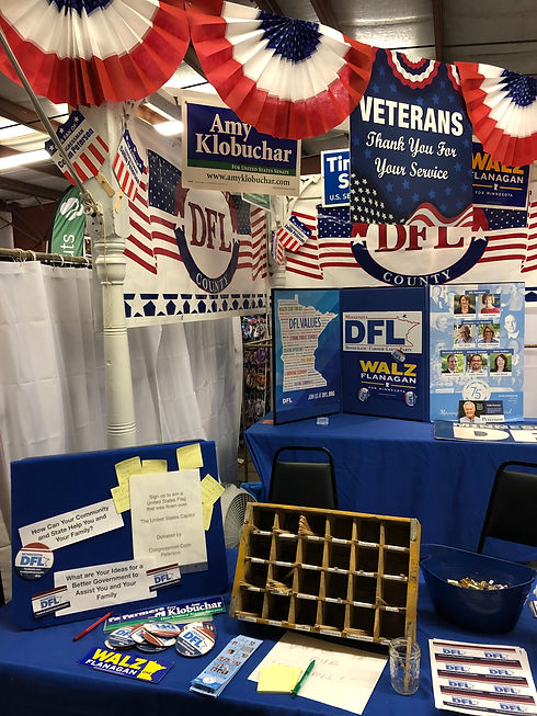 Kandiyohi County Fair Booth