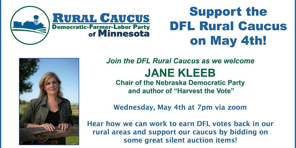 DFL Rural Caucus Event w/ Nebraska Dems Chair Jane Kleeb