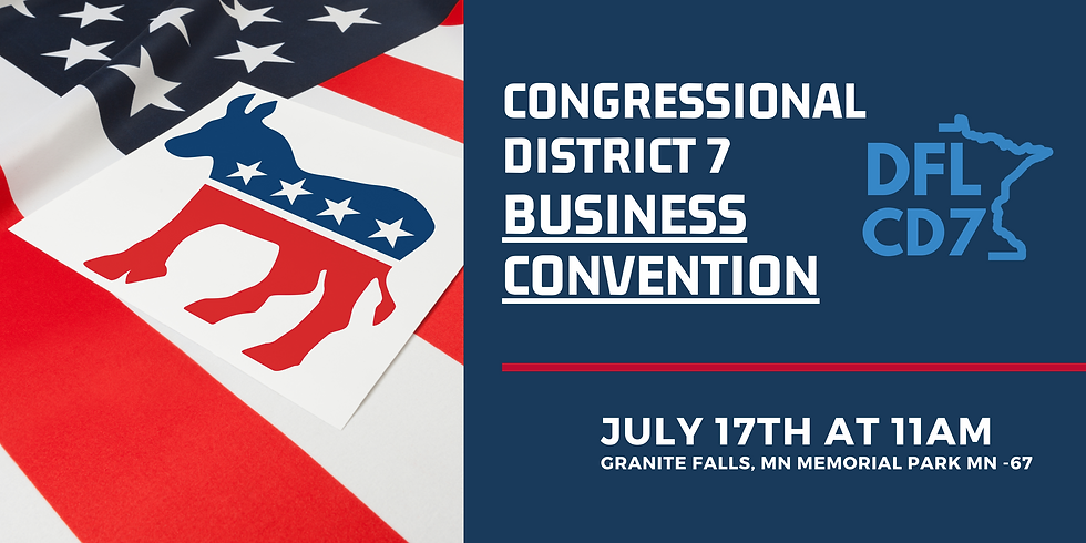 2021 Congressional District 7 Business Convention