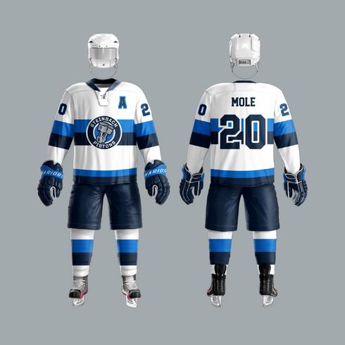 2020 Steinbach Pistons White Uniform