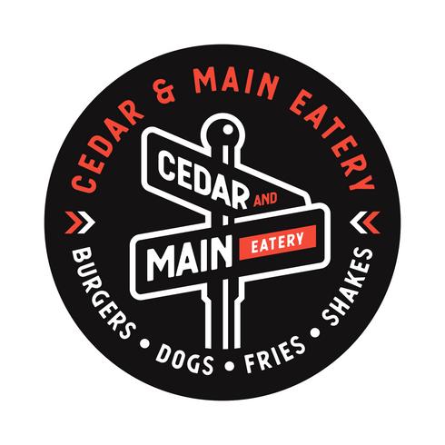 Cedar & Main Eatery Stickers
