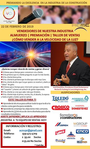 Flyer Vendedores de Nuestra Industria 20
