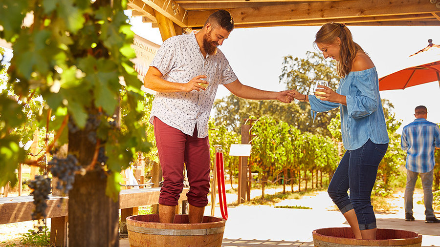 Grape Stomping Experience (for 2)