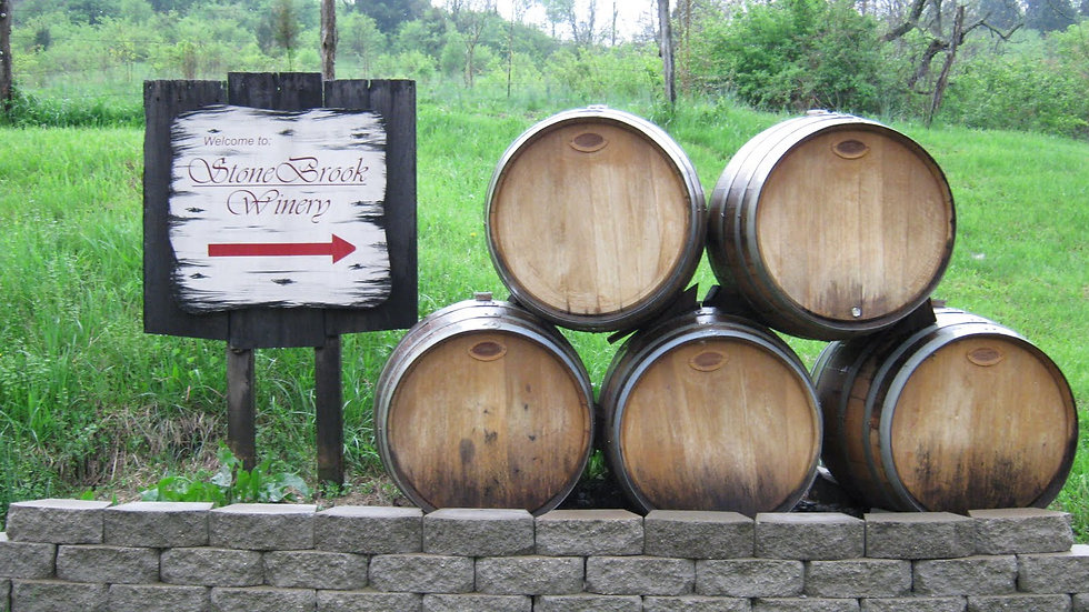 NKY Back Roads Wine Trail (for 10)