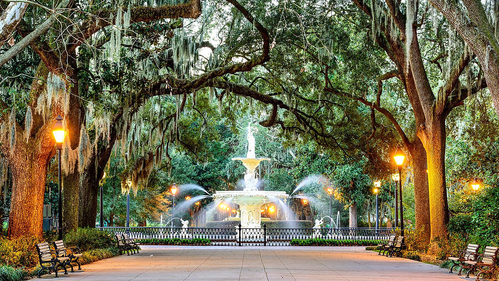 Walk Dine and Stay Savannah (for 2)