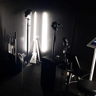 Light painting photo booth for Pepsi