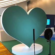 Unique green screen photo booth hire