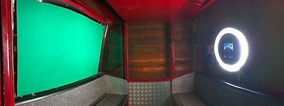 GIF Booth in a cable car