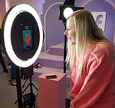 POD Ring light GIF Booth
