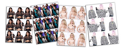 Poster photo booth prints A3