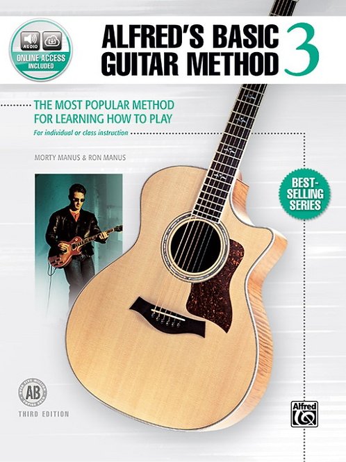 Alfred's Basic Guitar Method Book 3