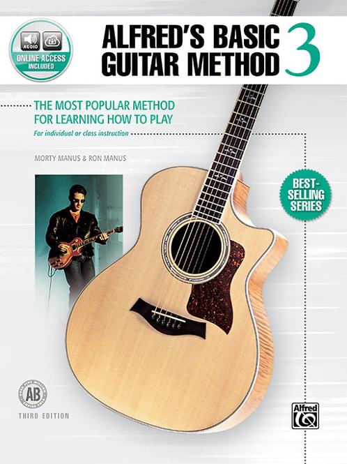 Alfred's Basic Guitar Method Book 3
