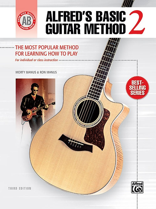 Alfred's Basic Guitar Method Book 2
