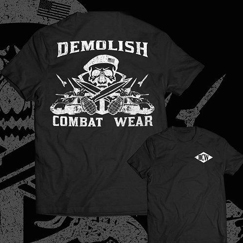 """War Path"" t-shirt in black"