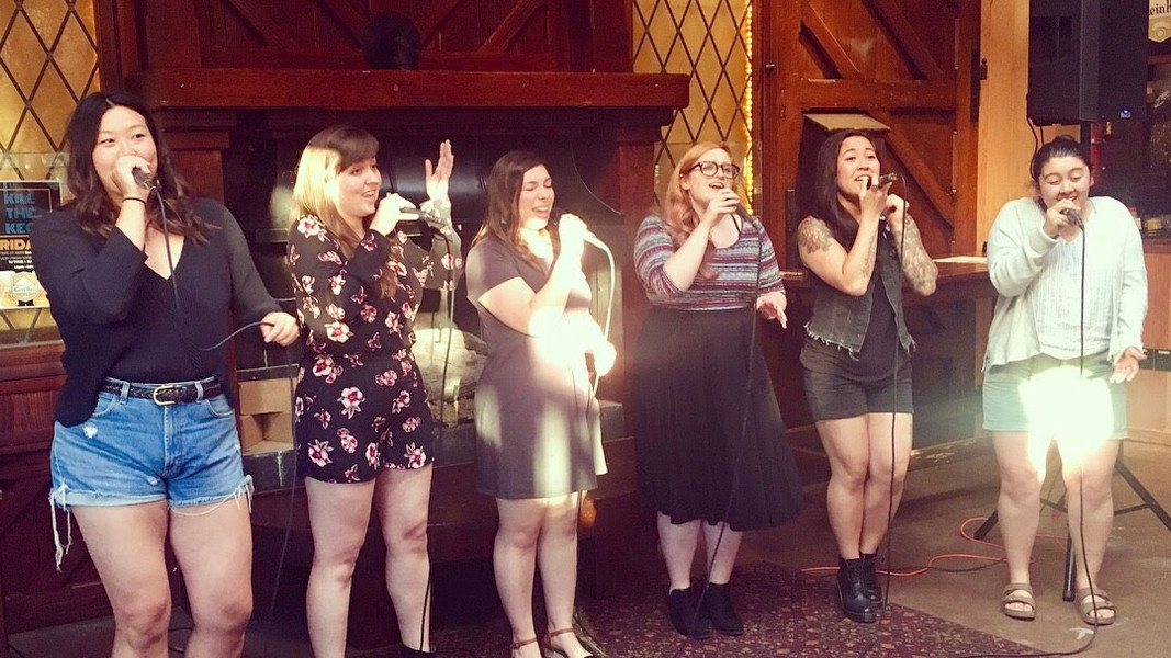 Performing at Rhein Haus Seattle