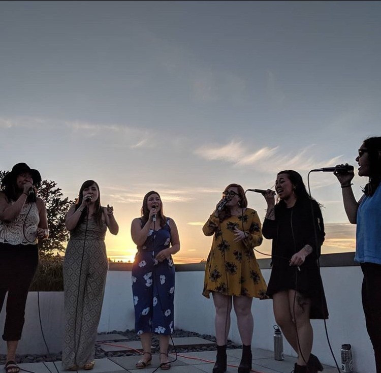Rooftop show in Eastlake