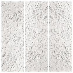 triptych in white