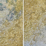 """two to tango - 2 panels - each panel: 36""""x36"""""""