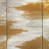 """dreams in gold - triptych - each panel: 24""""x36"""""""