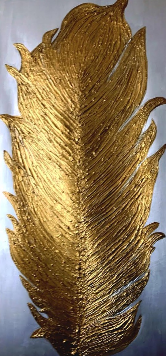 quill in gold