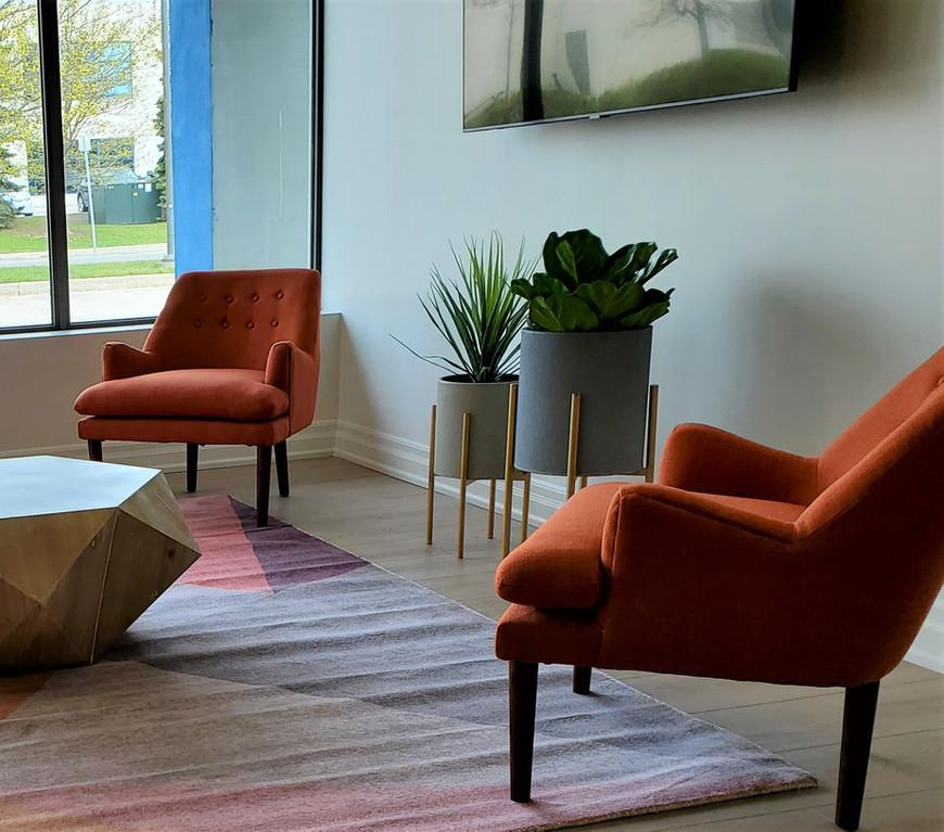 Boutique Office Lounge Design
