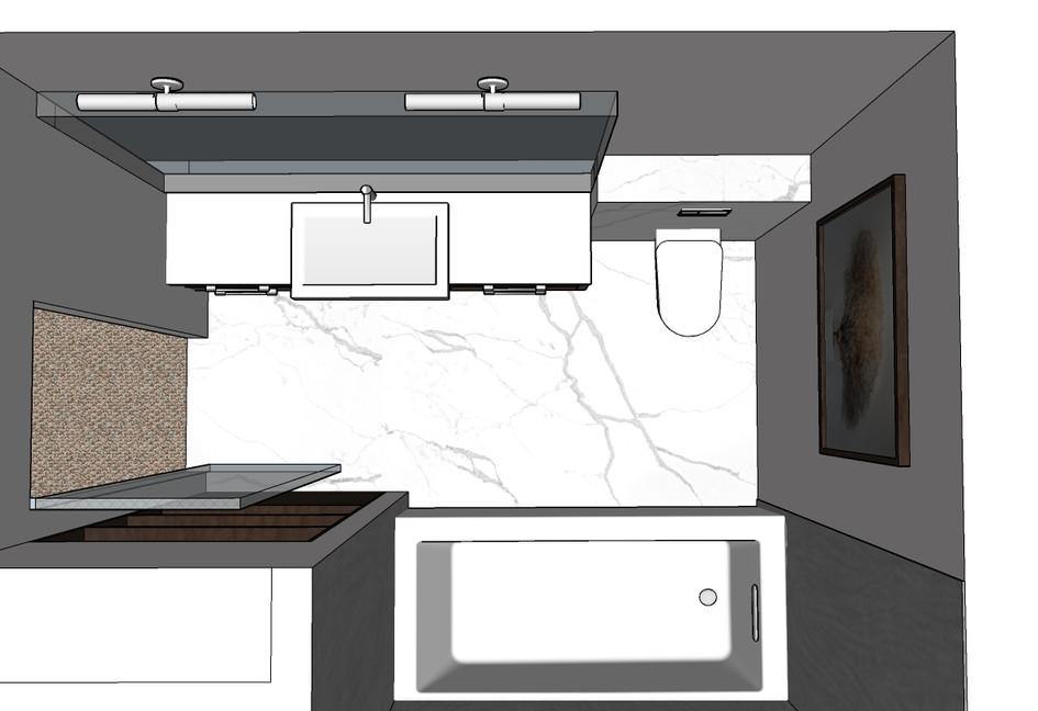 Mount Alverno Suite Bathroom