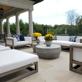 King City Custom Home - Outdoor Lounge