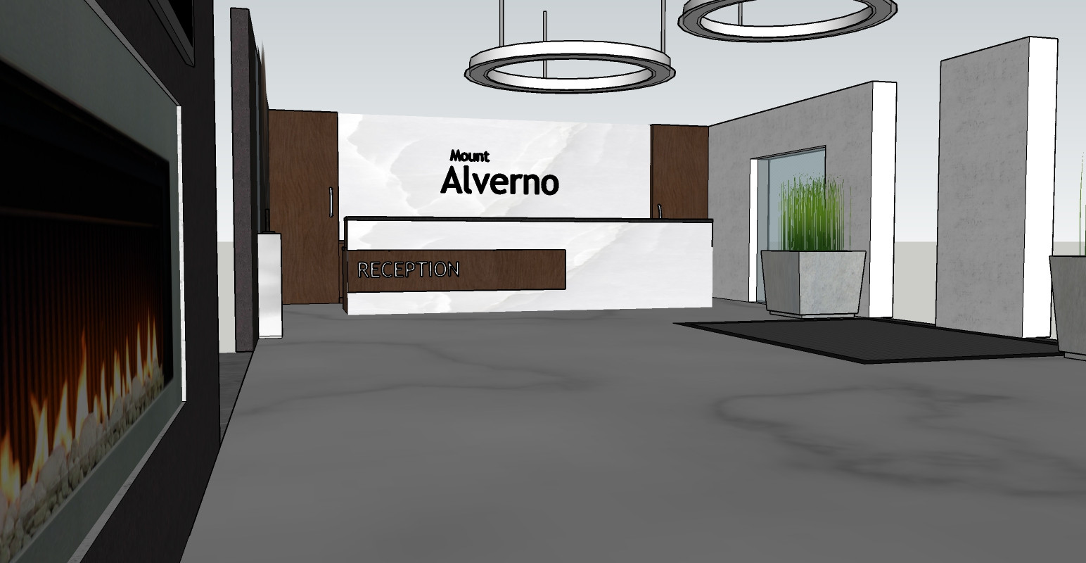Mount Alverno Resort Reception